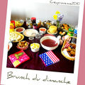 Le brunch du dimanche entre france - londres et new york .