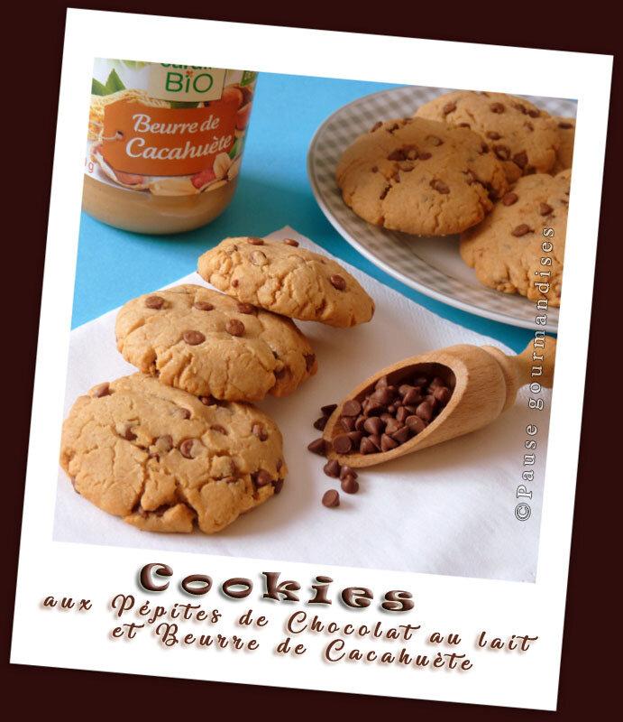 Cookies aux pépites de chocolat au lait et beurre de cacahuète (10)