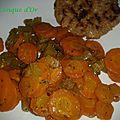 Sauté de carottes au céleri