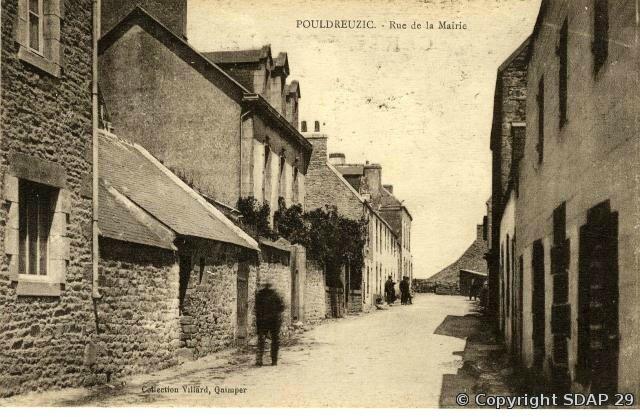 Rue de la Mairie Pouldreuzic