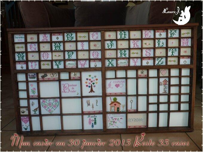 casier 114 au 30 janvier 2015
