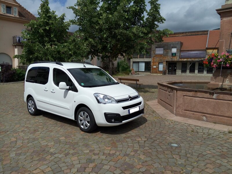 Berlingo HDI 120 Version 7 places