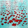 Poppies - 50x50 cm - 250 €