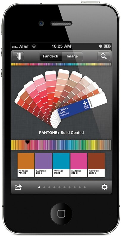 pantone application iPhone 1
