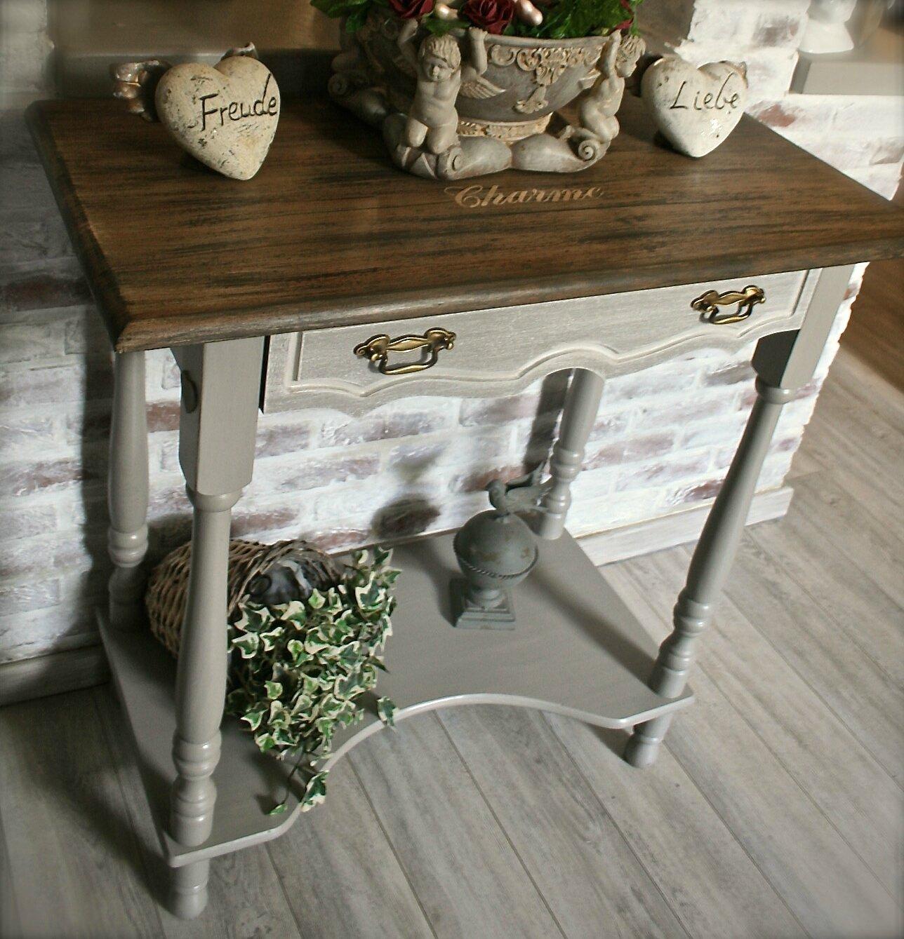 bel ensemble meuble console & miroir pour hall d'entr�e