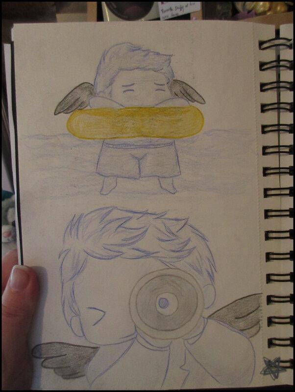 dessins du carnet Castiel (7)