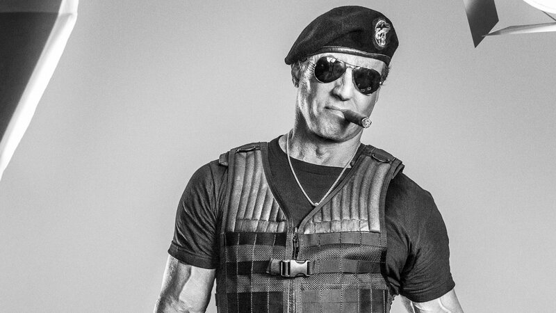 the-expendables-black-and-white-cigar-sylvester-stallone