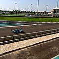 le circuit Yas Marina GP formule 1 Abu Dhabi