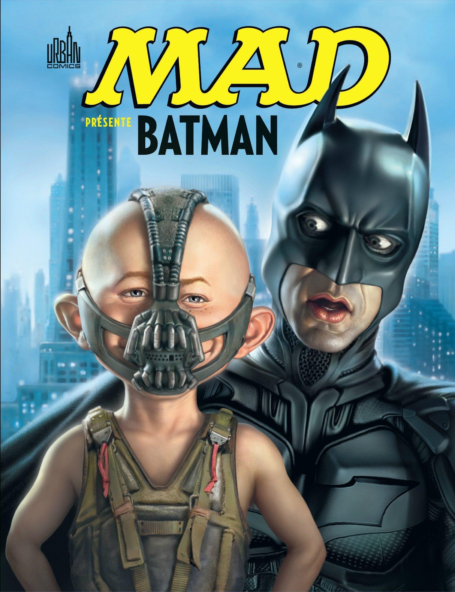 Urban : Mad présente Batman