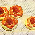 Tartelettes à la fraise light!