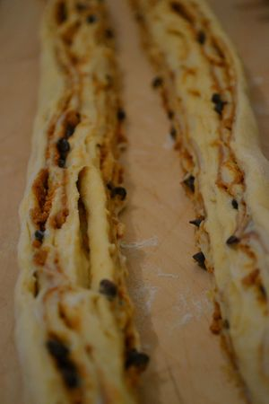 Kringel estonien à la pâte de spéculoos et aux pépites de chocolat (5)