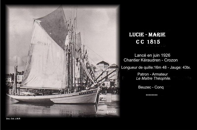 1-Lucie-Marie C C 1815- à quai- (2)