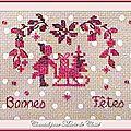 Ronde ATC Chez Véro [Décembre] (Couleurs Libres) Chantal pour Marie de Clessé 1
