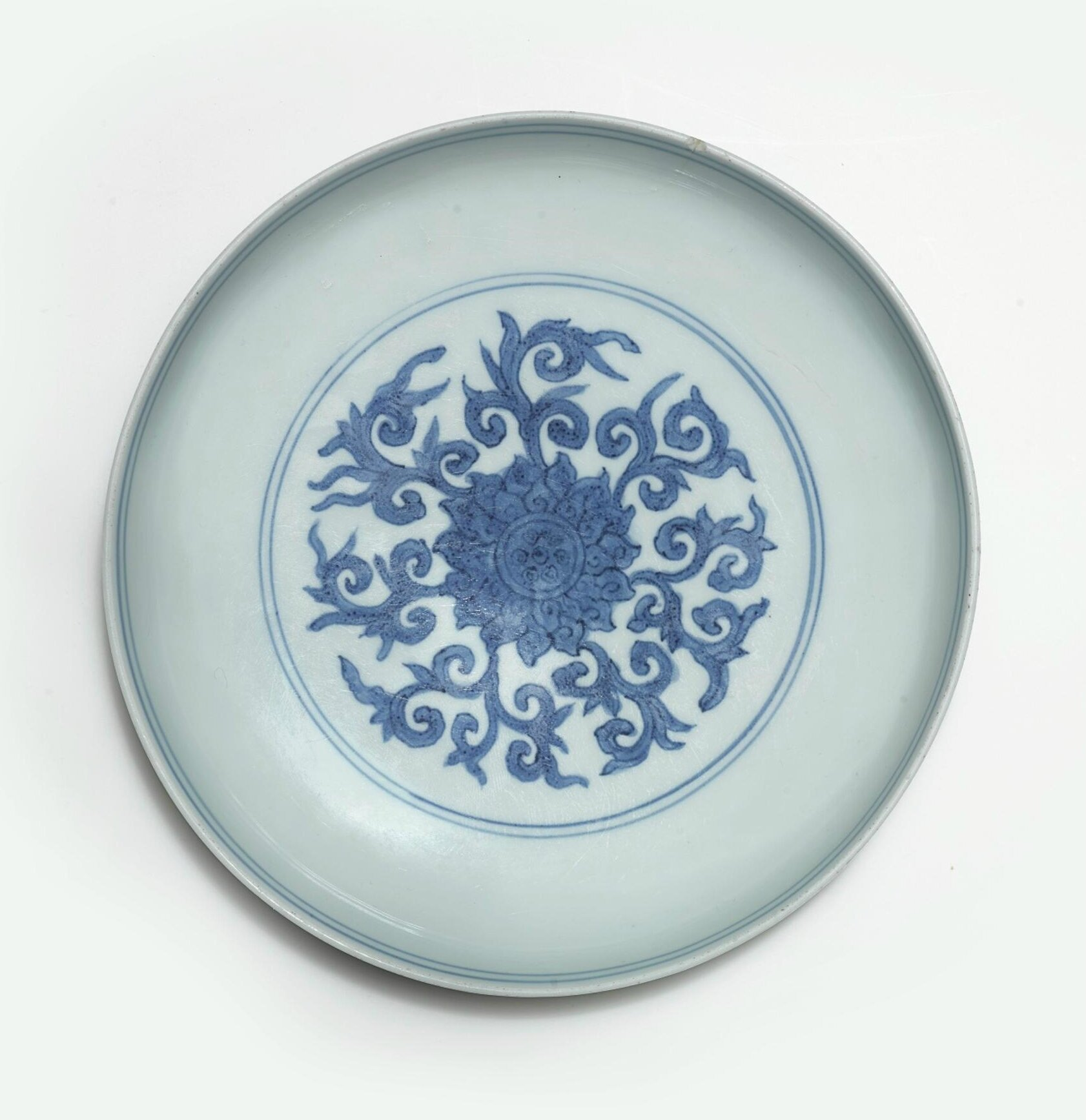 A blue and white bowl, Jiajing mark and period (1522-1566)