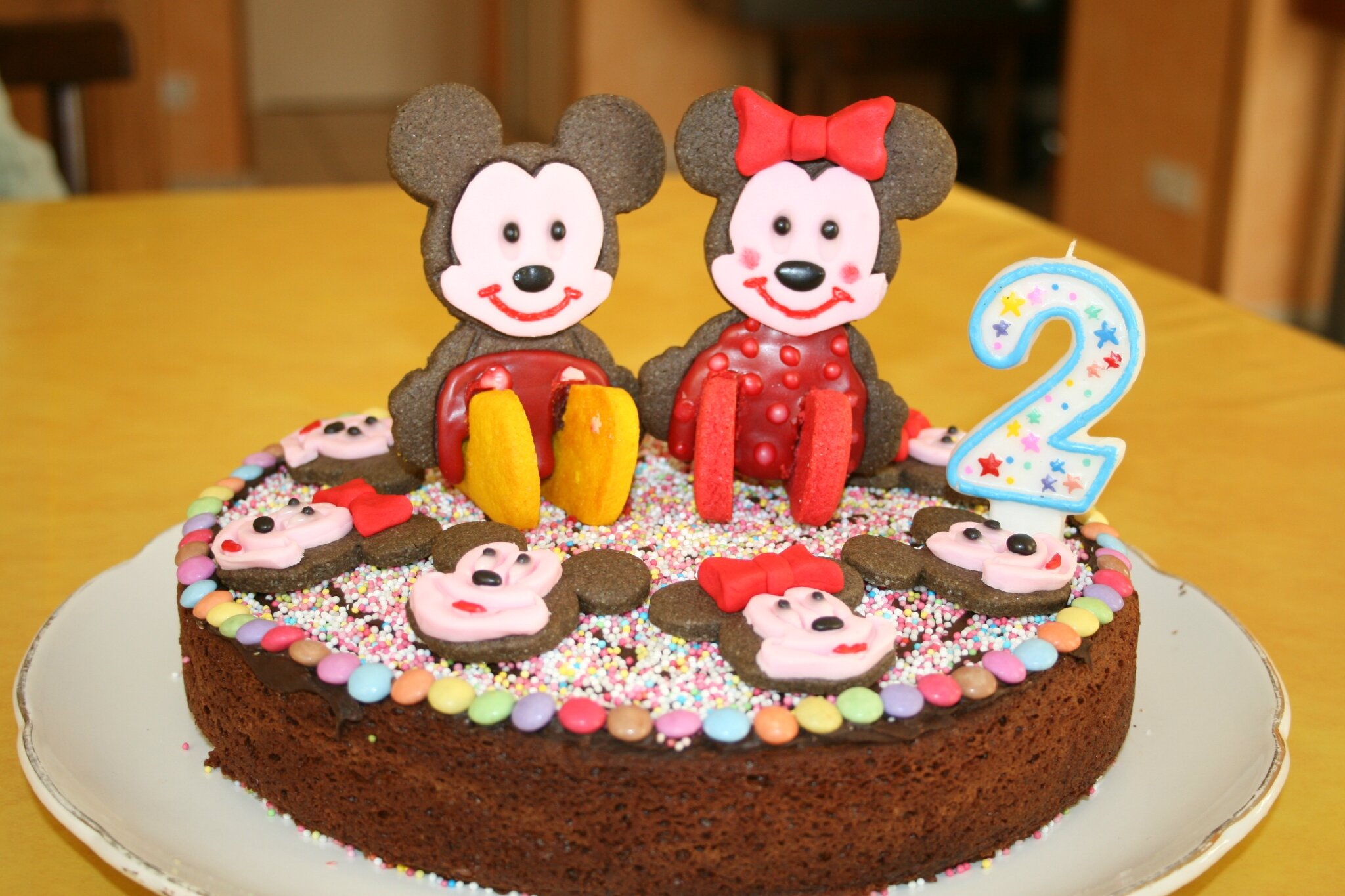 Micke Maouse Cake