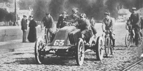1903 paris-madrid - marcel renault (renault 30hp) crashed fatally at théry 2
