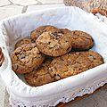 Cookies beurre salé / amandes / pépites de chocolat
