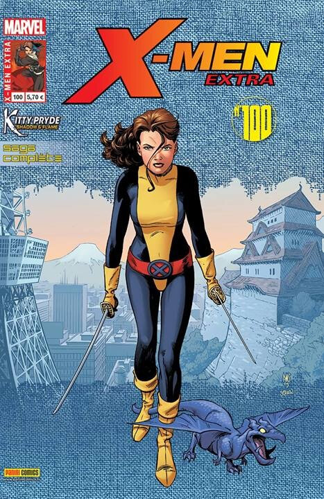 x-men extra 100 kitty pryde shadows & flame