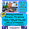 Expo maquettes à nouvion - 26 et 27 mai