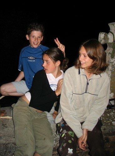 Léo, Clémy et Noémie