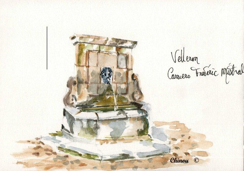 Velleron fontaine