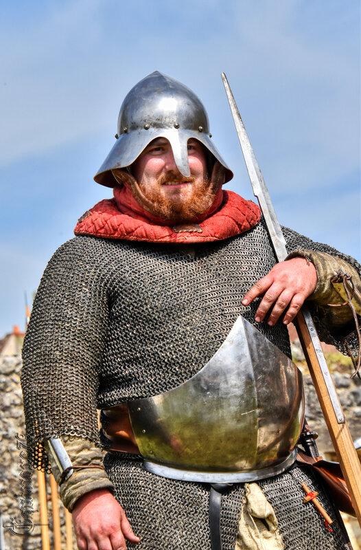 Guerre de cent ans dans le Poitou, château d'Angle sur l'Anglin (5)