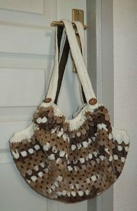 sac boule brun gm
