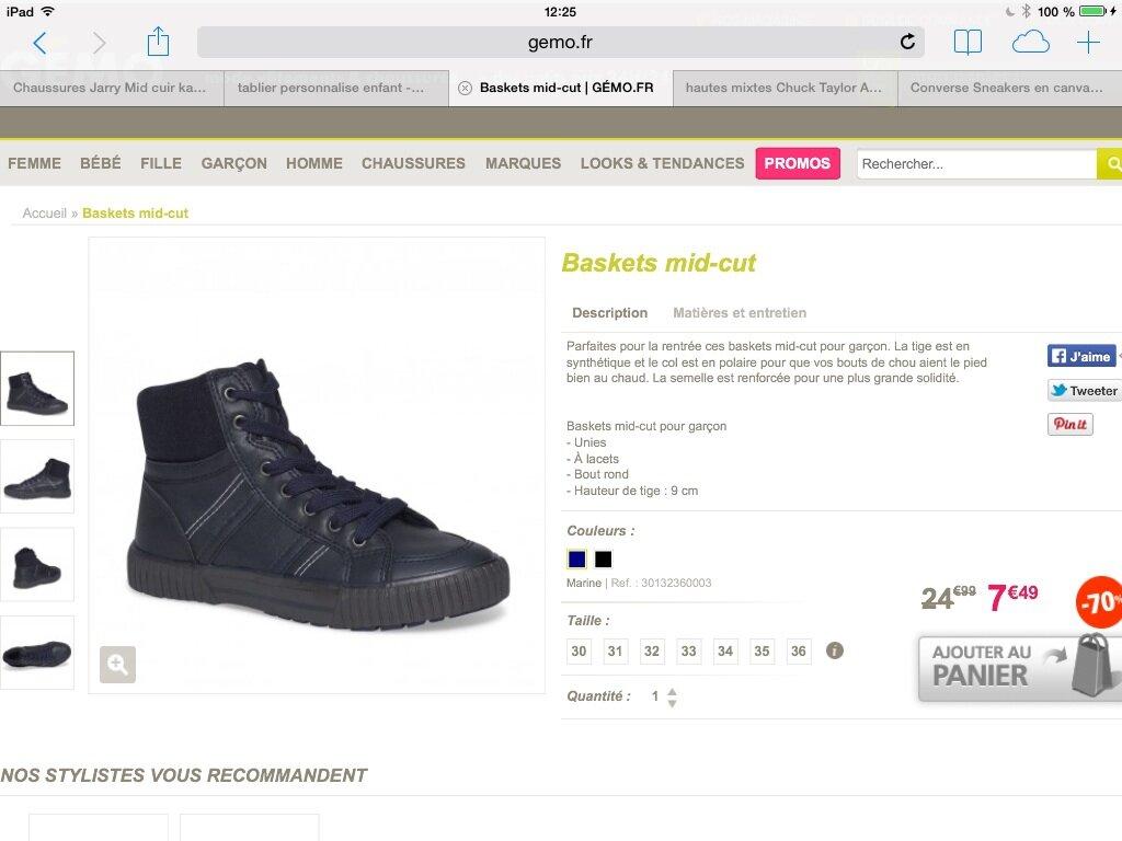 incroyable sélection Site officiel couleur attrayante De belles surprises pendant les soldes : GEMO, TAPE a l'OEIL ...