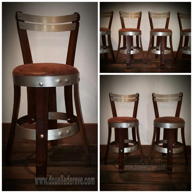 chaise avec rembourage , chaise de bar , tabouret de bar , chaise haute , chaise de cuisine , tabouret de cuisine, chaise sur mesure, tabouret sur mesure , cuve tronconique , enjambeur vigne ,