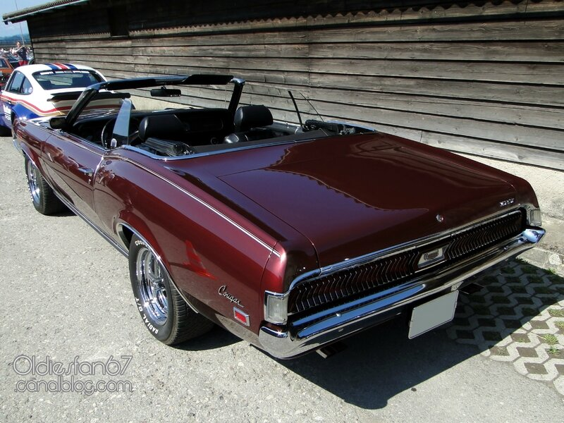 Mercury Cougar XR7 convertible-1969 2