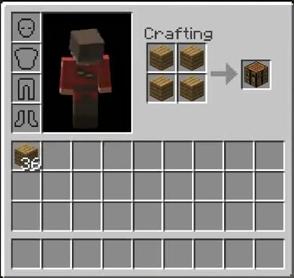Minecraft - Comment faire une table dans minecraft ...