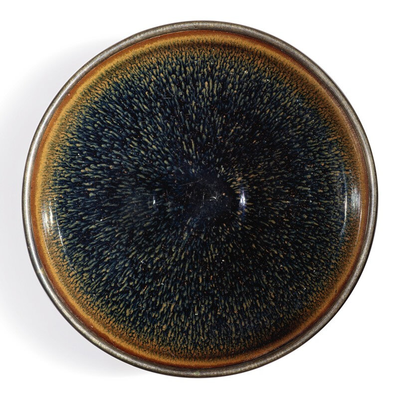 A 'Jian' russet-streaked 'nogime tenmoku' bowl, Southern Song dynasty