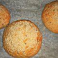 Pains à hamburger classiques ( buns ) - 100% végétalien