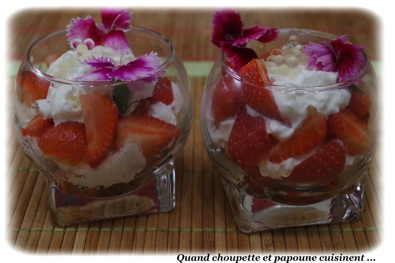 verrines fraises chantilly-8617