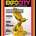 Expo in the city - sorties à paris - magazine mensuel