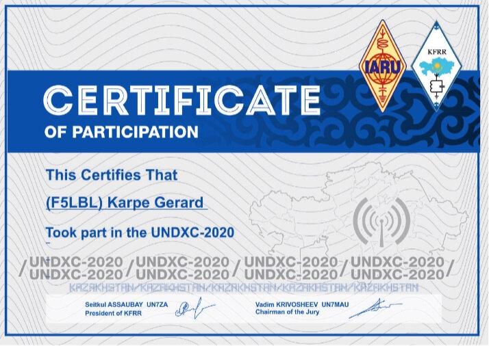 Kazakhstan diplome certificat