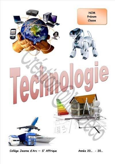 Page de garde Technologie