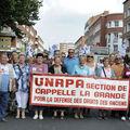 Manifestation du dunkerquois pour la retraite a 60 ans
