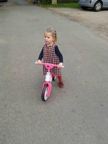 robe et vélo