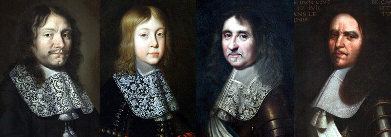 France, circa 1664-1667