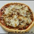 Pizza à l'orientale