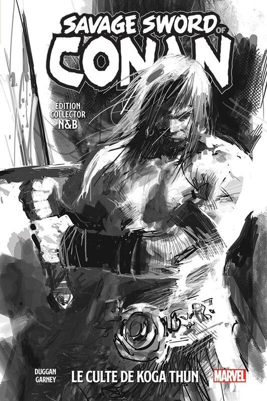 100% marvel savage sword of conan 01 le culte de koga thun collector