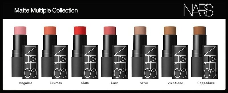 nars matte multiple collection 2