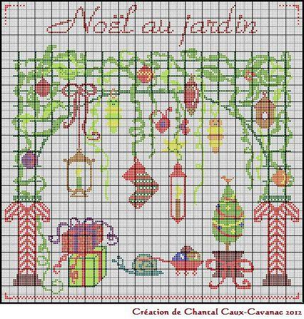 Noël au jardin 2012