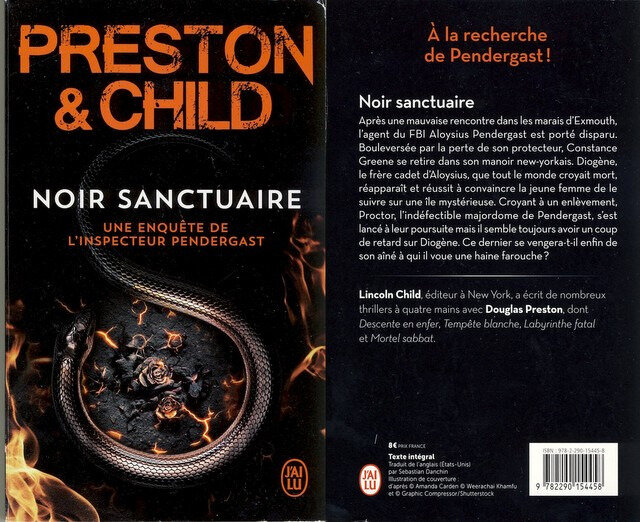1- Noir sanctuaire - Preston and Child