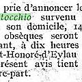 Montocchio Maurice_Décès_Le Figaro 1922