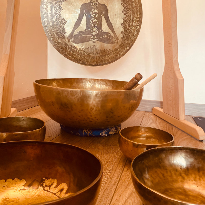 Les bols tibétains - Sonothérapie