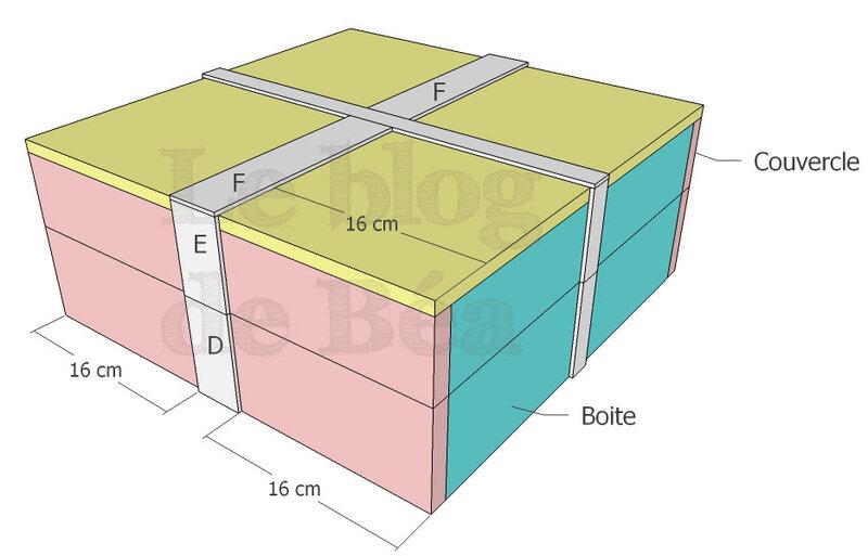 DIY calendrier de l'Avent en planches de palette
