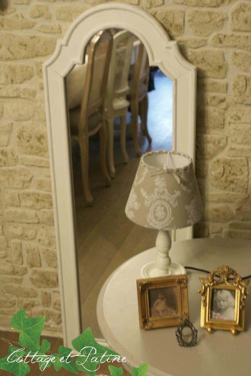 miroir relooké client cottage et patine