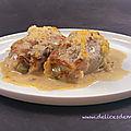 Gratin de chicons (endives) au jambon cru et au parmesan